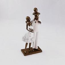 Escultura família
