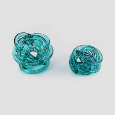 Bola de vidro azul