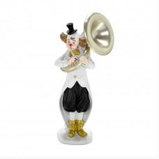 Escultura palhaço com trompete