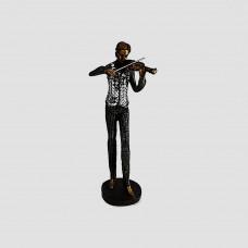 Músico com violino